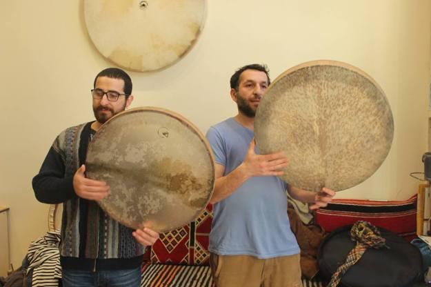 Professeurs de percussion