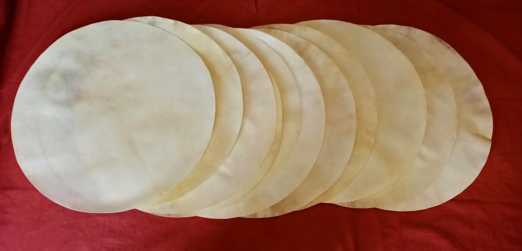 peaux de chèvre 60 cm chamanique djembe