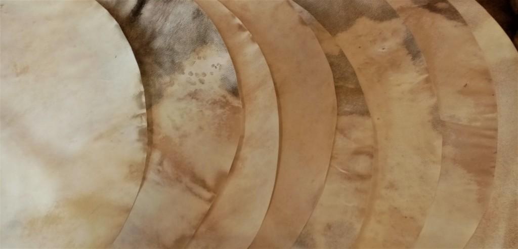 peaux de chèvre 80 cm détails